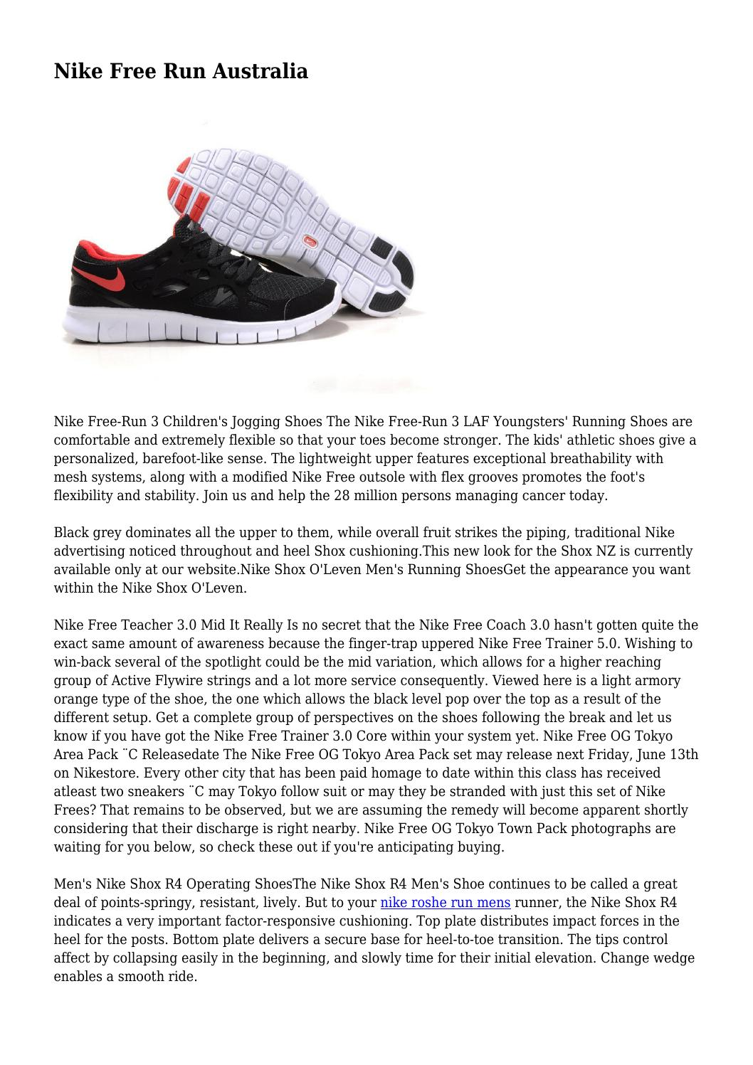 477042274c4234 Nike Free Run Australia by endurabledownli77 - issuu
