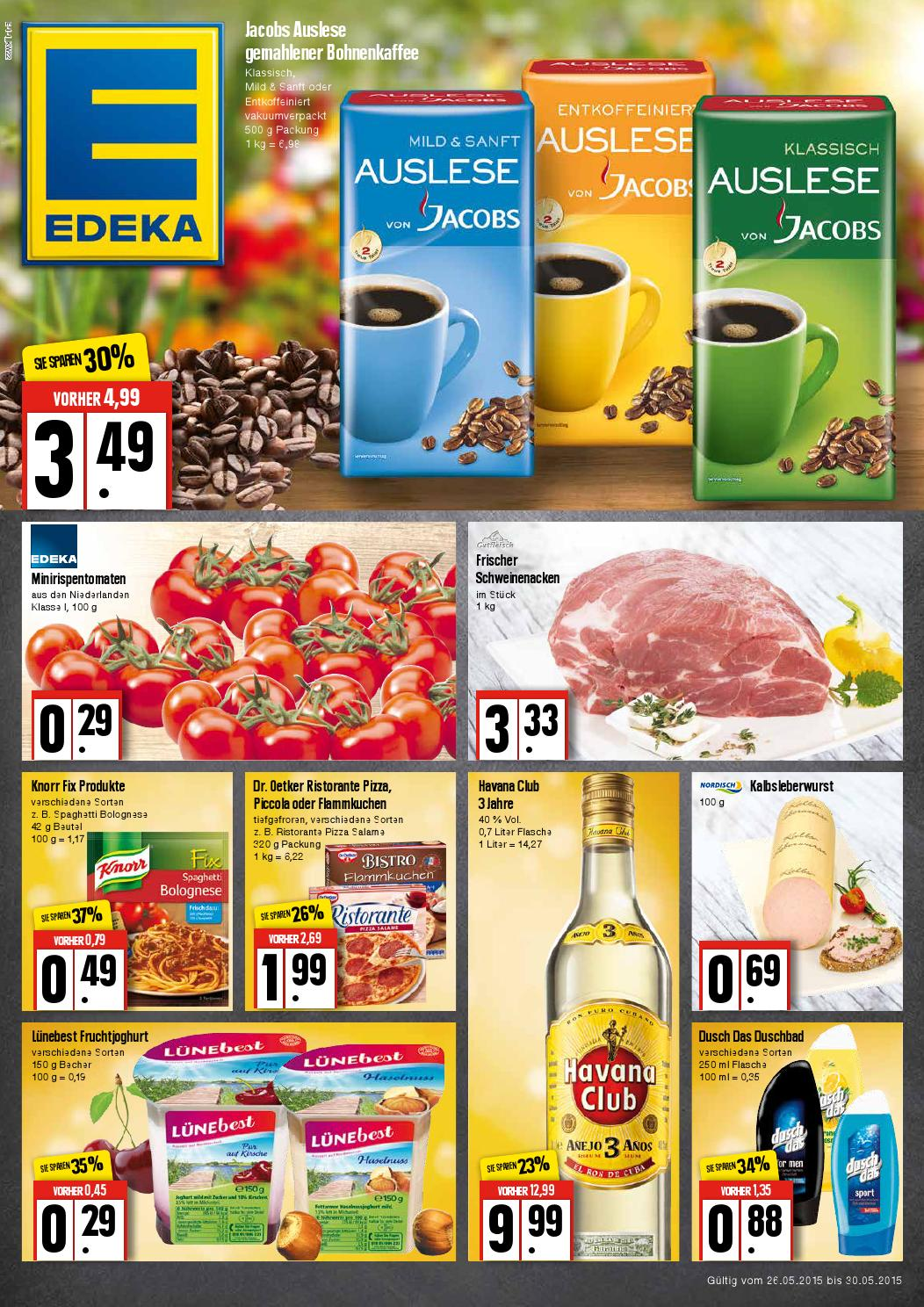 Edeka Angebote ab 26.05.15 - Onlineprospekt.com by Onlineprospekt ...