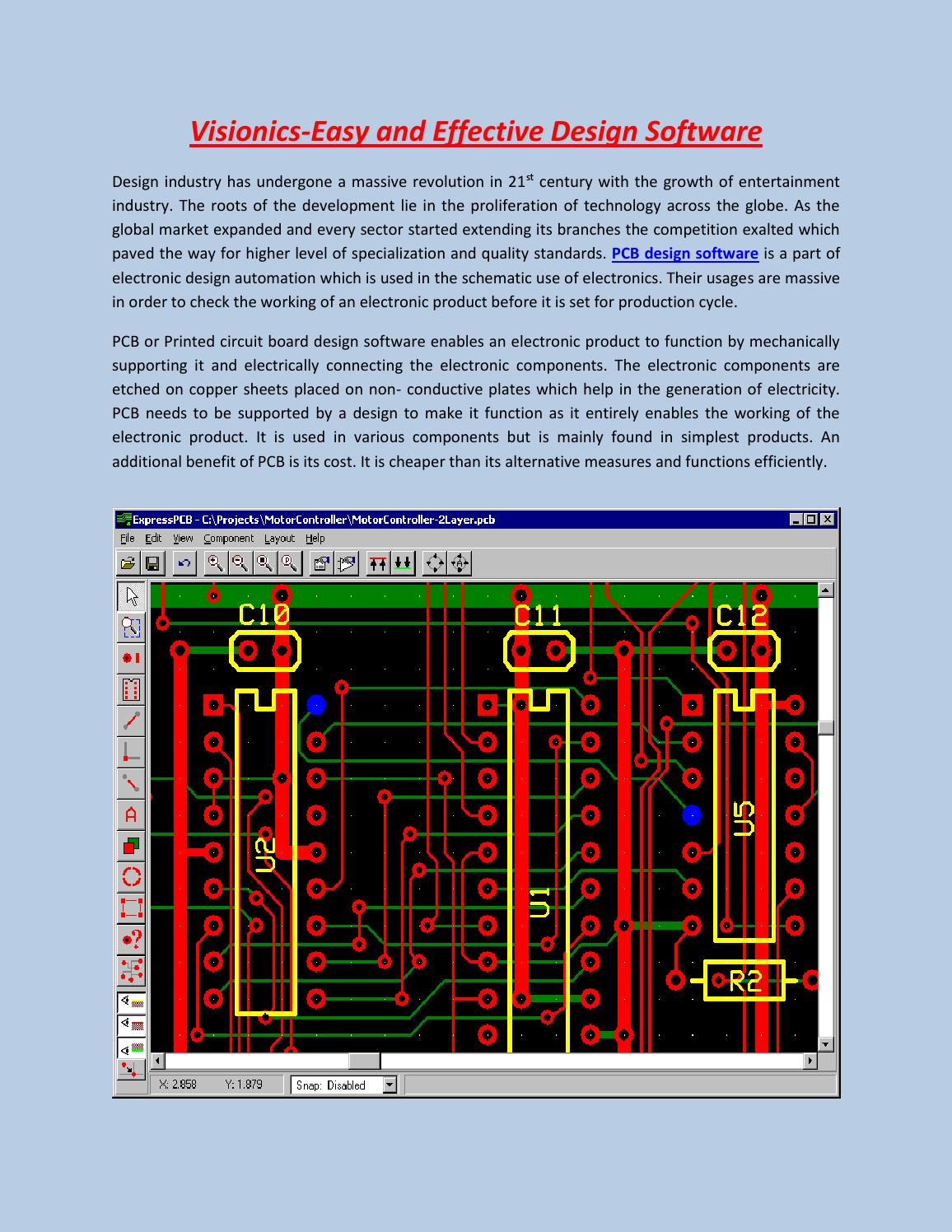 Get Pcb Design Software At Visionics Sweden By Issuu Technical Expresspcb Schematic And New Version