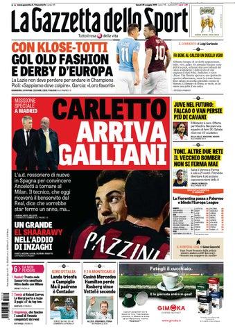 lowest price fb723 4546f La Gazzetta dello Sport (05-25-2015) by Nguyen Duc Thinh - issuu