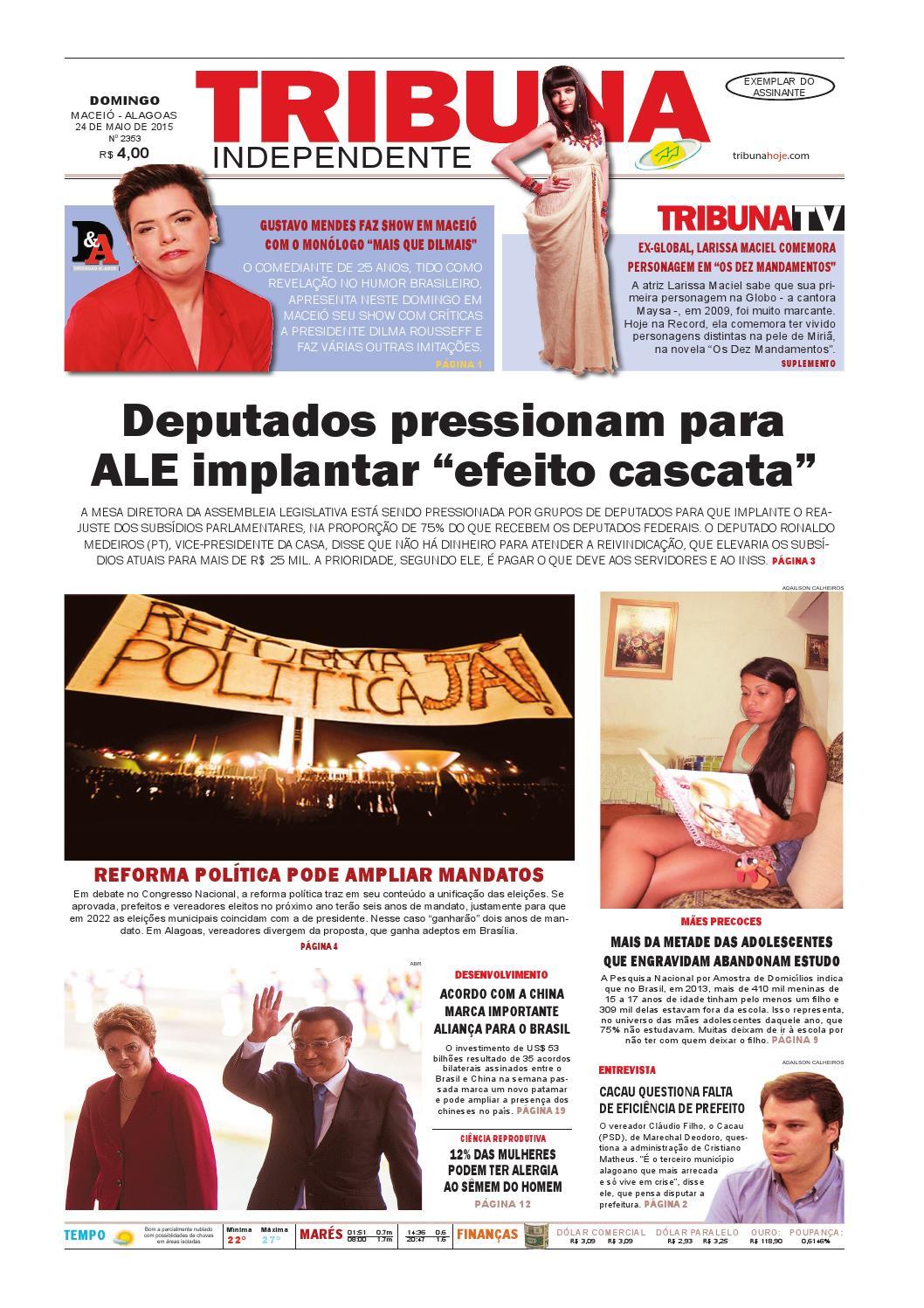 Edição número 2353 - 24 de maio de 2015 by Tribuna Hoje - issuu 72a6674702