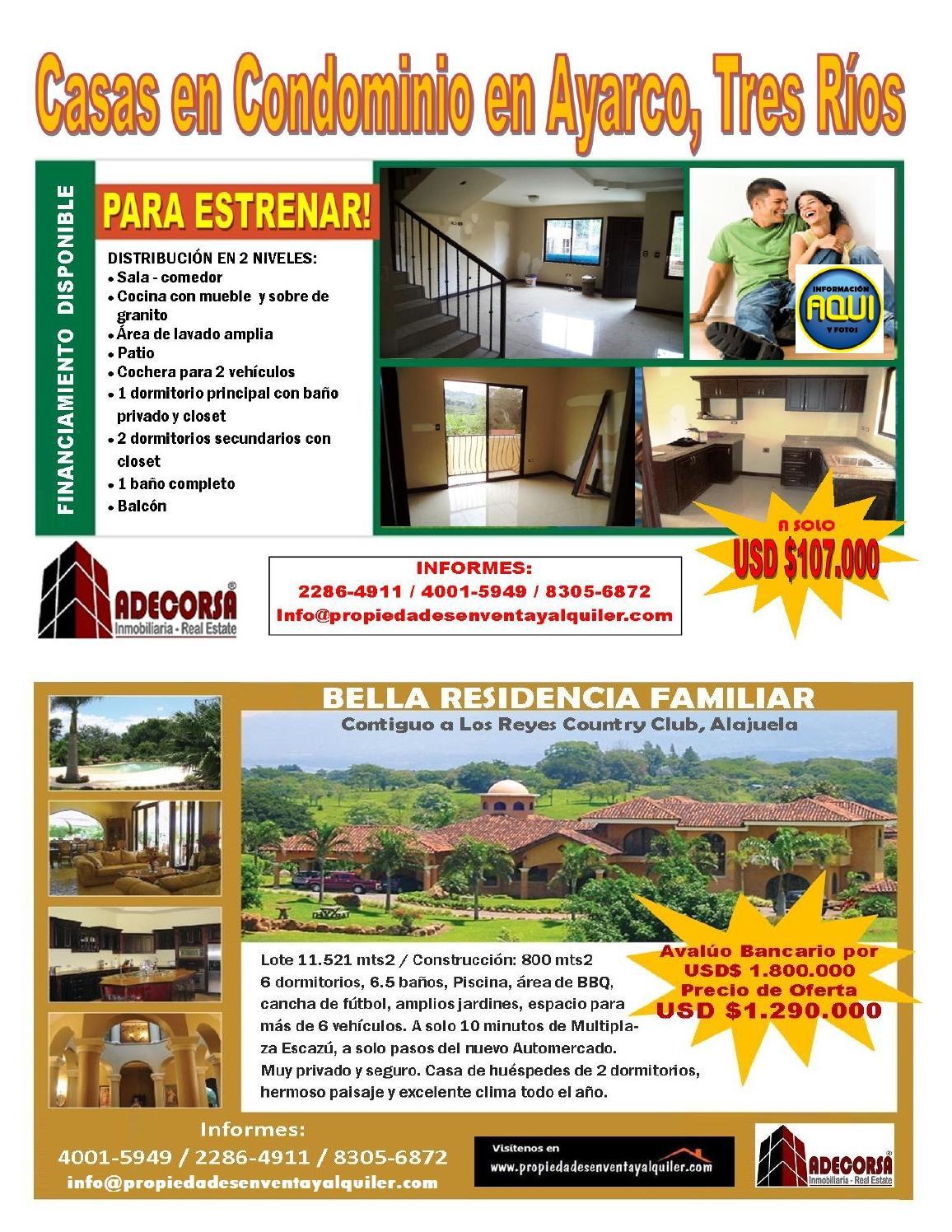 info inmobiliaria bolet n de ofertas 1 by adecorsa