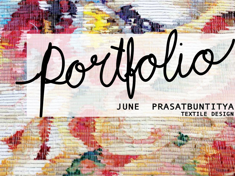 Portfolio Textile By June Prasatbuntitya Issuu