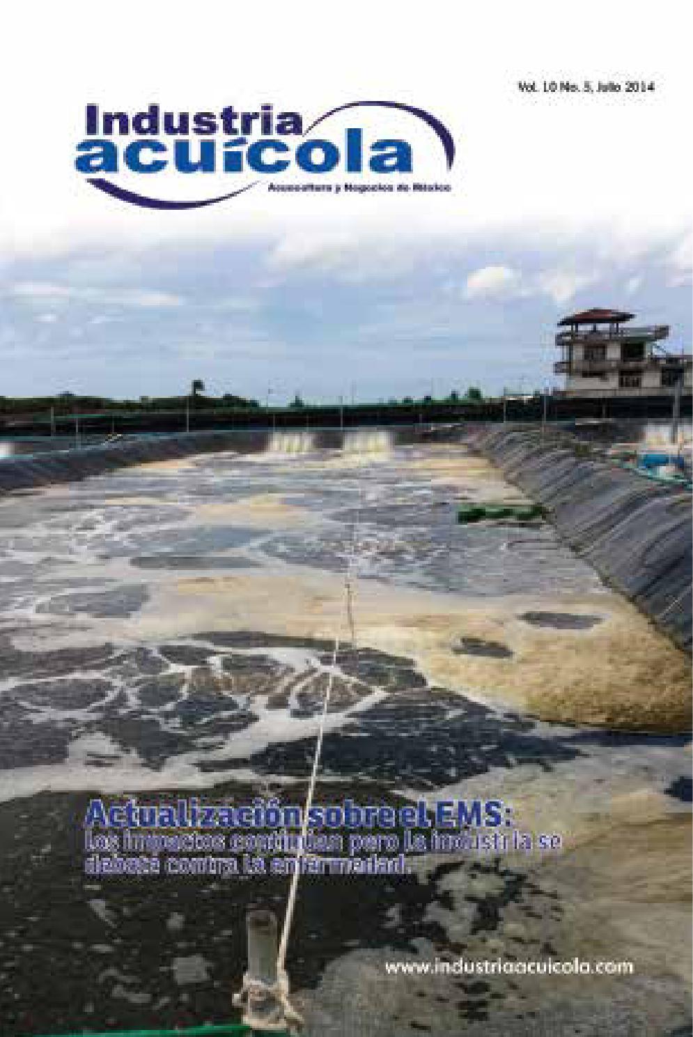 Industria acu cola edici n 10 5 by aqua negocios sa de cv for Precio de estanques de geomembrana para peces