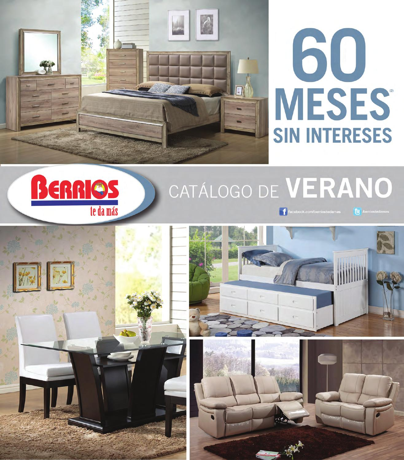 Mueblerias Berrios | Catálogo Verano 2015 By Berrios   Issuu