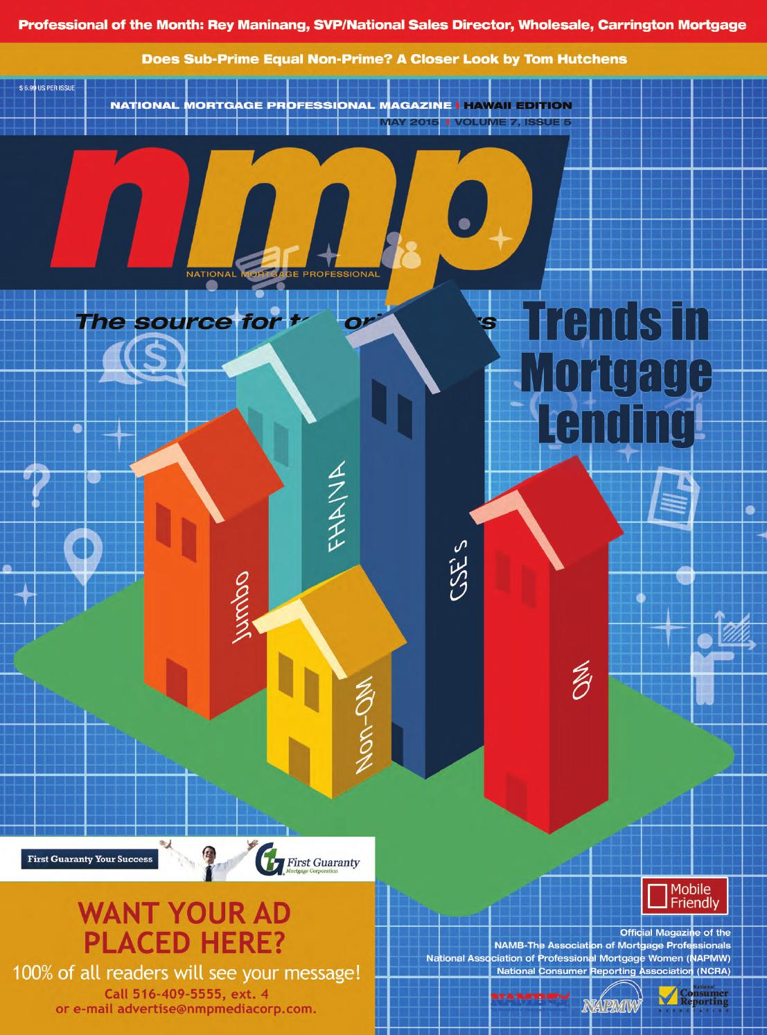 Hawaii Mortgage Professional Magazine May 2015 by NMP Media