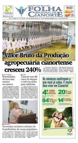 3fbd64ed03 Folha Regional de Cianorte - Edição 1170 by Folha Regional de ...