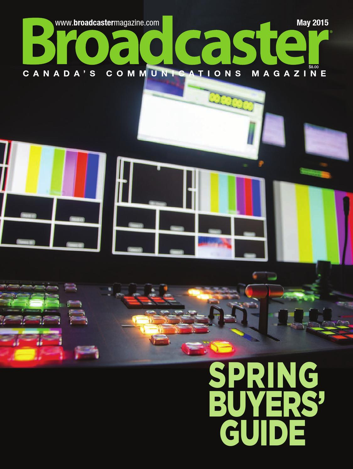 Broadcaster Magazine May 2015 By Annex Business Media Issuu More Advanced Dimmer Switches Like Varilight Eclique And Lightwave Rf