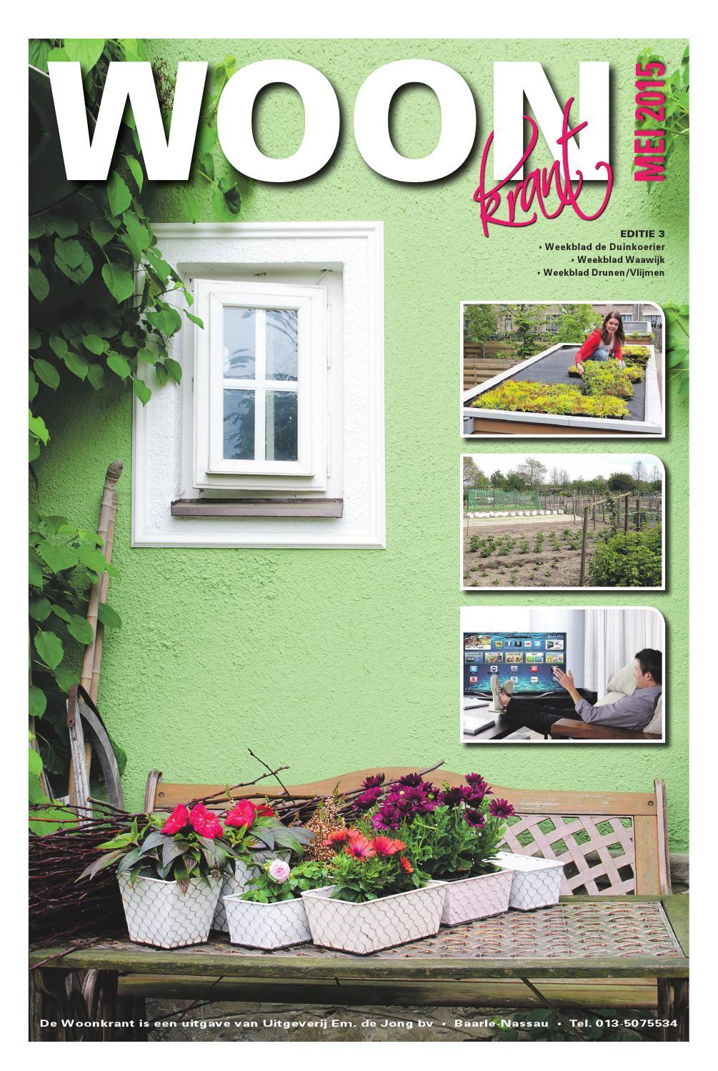 Woonkrant mei 2015 editie 3 by uitgeverij em de jong issuu for Nassau indus deur bv oosterhout