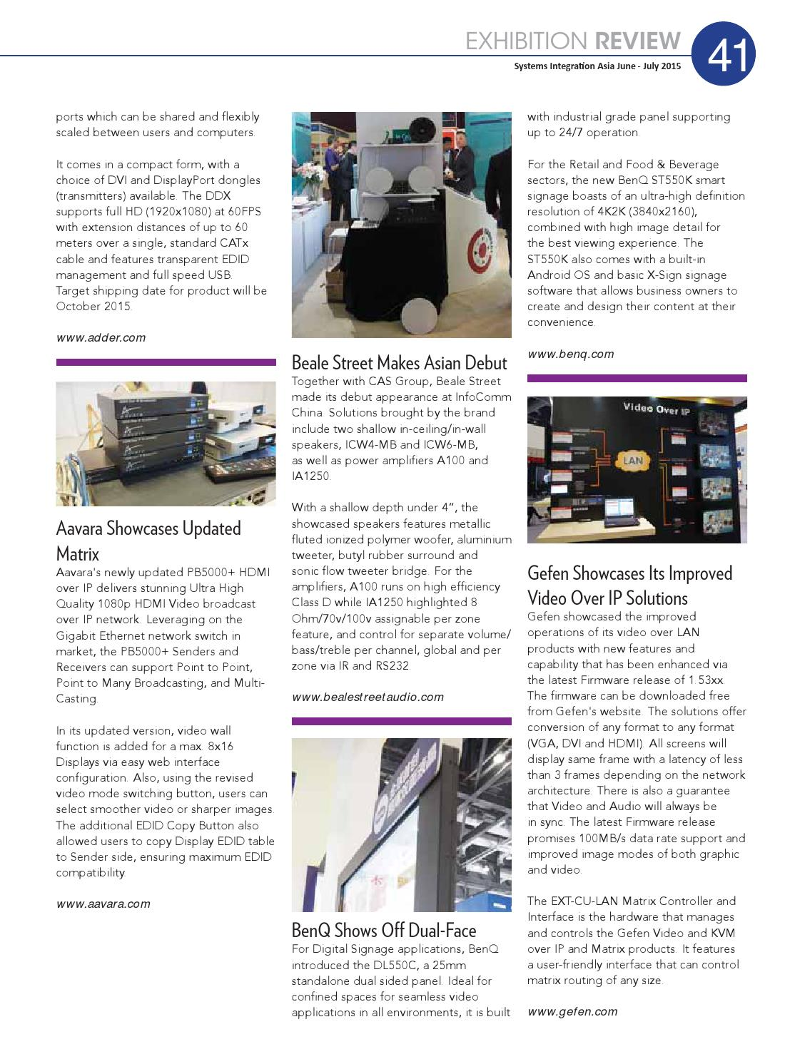 Systems Integration Asia June-July 2015 by Spinworkz Pte Ltd - issuu