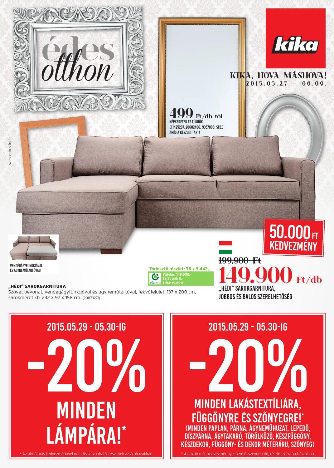 kika lakberendez s akci s sz r lap hu30 by kika home furnishing issuu. Black Bedroom Furniture Sets. Home Design Ideas