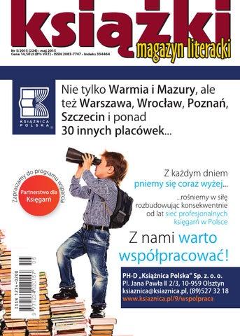 MLK 5 2015 by Biblioteka Analiz Magazyn Literacki KSIĄŻKI - issuu e45bf042dd14c