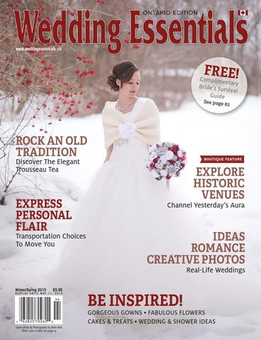 963128b5d 2015 Winter Spring Wedding Essentials Newsstand Edition by Wedding ...