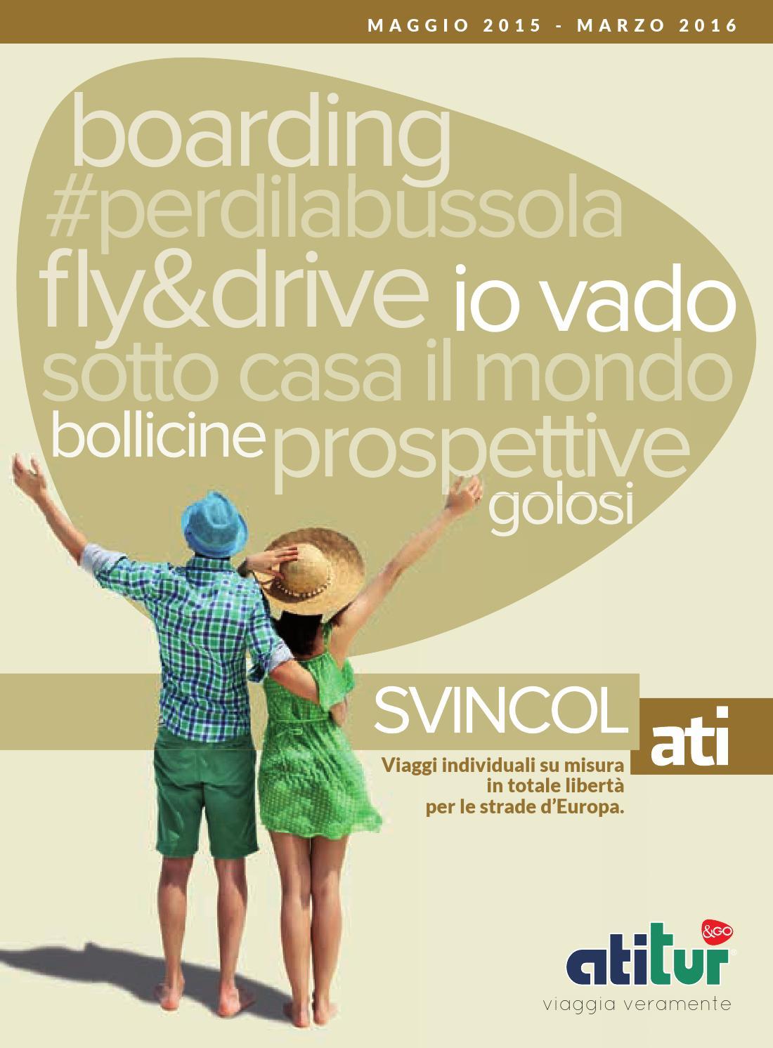 Atitur Pdf Catalogo Svincolati 2015 By Travelquotidiano Com Issuu