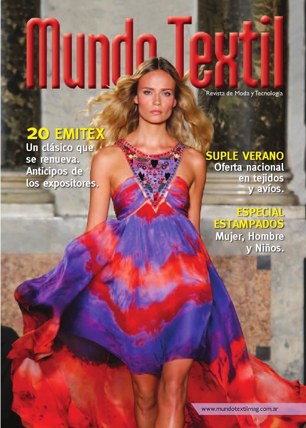 3d2d9d9ab4aa Mundo Textil Argentina 58 by Andrea Lippi - issuu