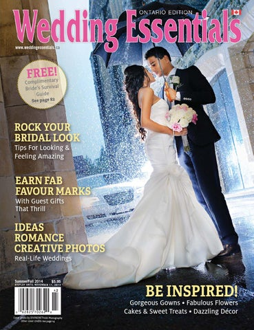 2014 Summer Fall Wedding Essentials Newsstand Edition by Wedding ... e7d50ce34