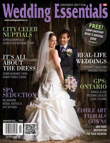 c99f98c1f4 2013 Summer Fall Wedding Essentials Newsstand Edition by Wedding ...