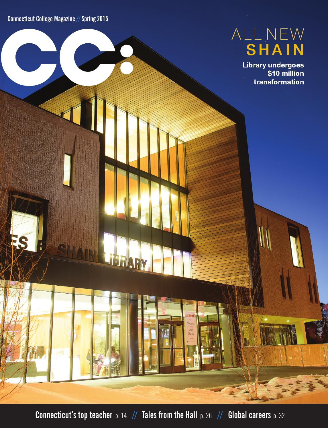CC: Connecticut College Magazine Spring 2015 by Connecticut College ...