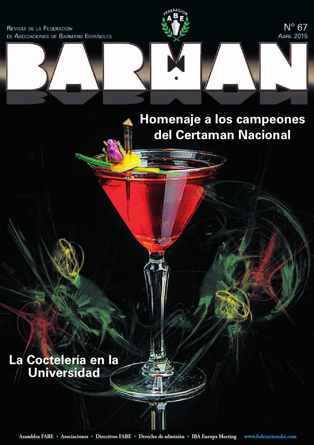 Barman 67 by Carmen Fernández - issuu