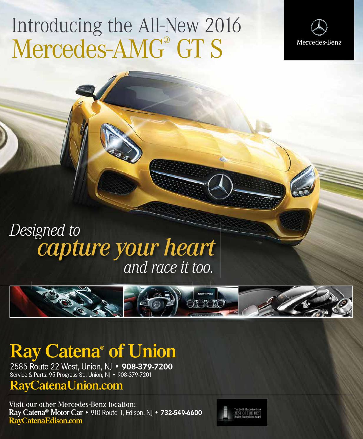 The art of fashion may june 2015 by mod media llc issuu for Ray catena mercedes benz edison nj