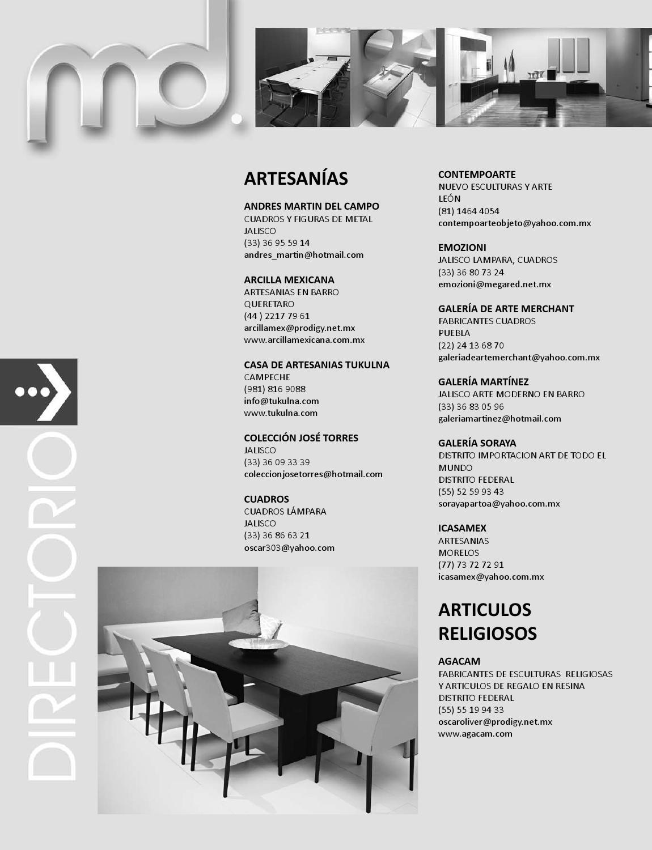 Edición 123 by Revista Muebles y Decoración - issuu 2e2a7fadb9b