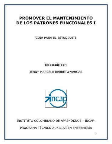 Modulo jn mantenimiento de patrones funcionales i by JENNY BARRETO ...