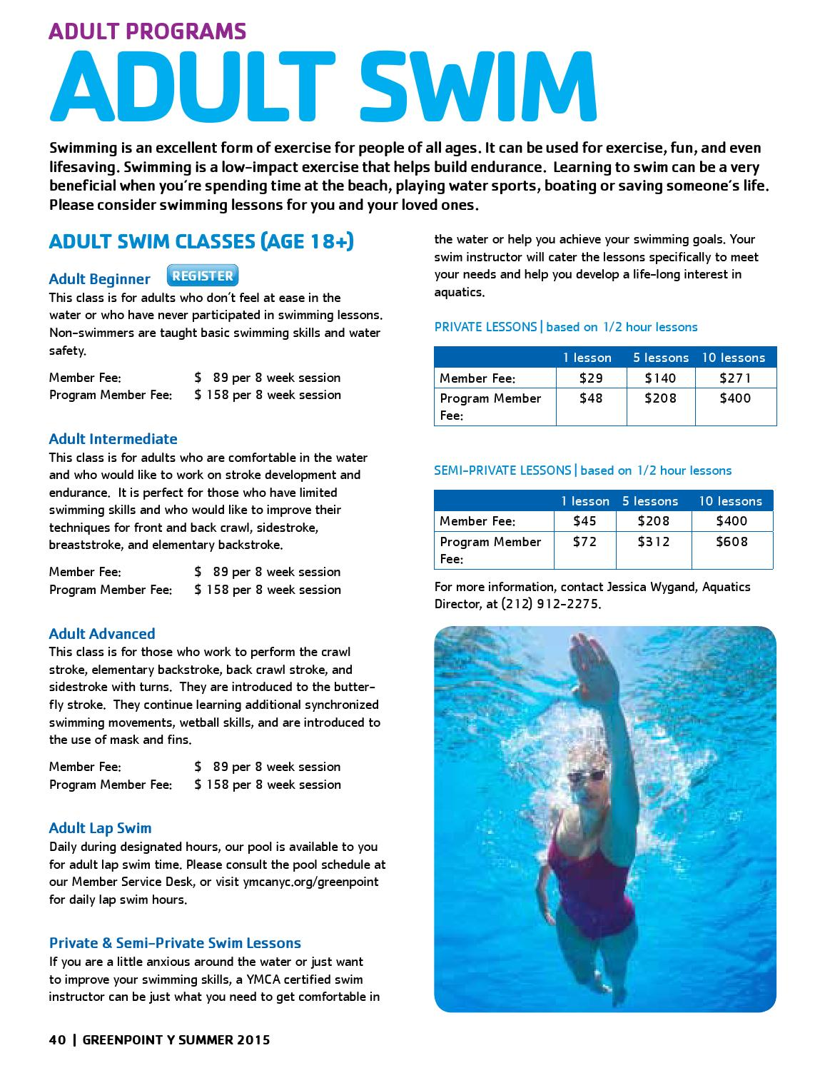 Greenpoint YMCA Summer 2015 Interactive Program Guide