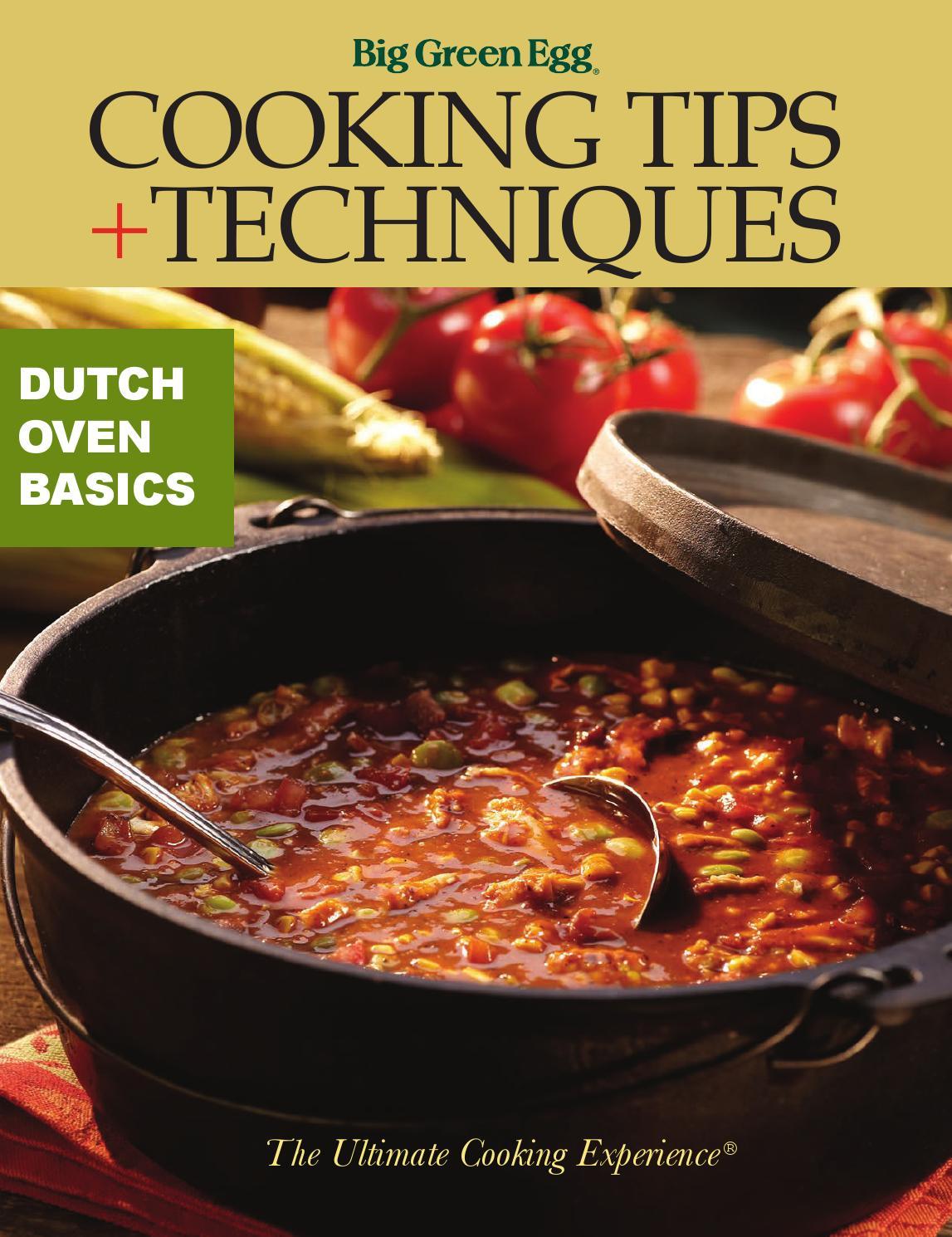 Dutch Oven Basics By Big Green Egg Issuu