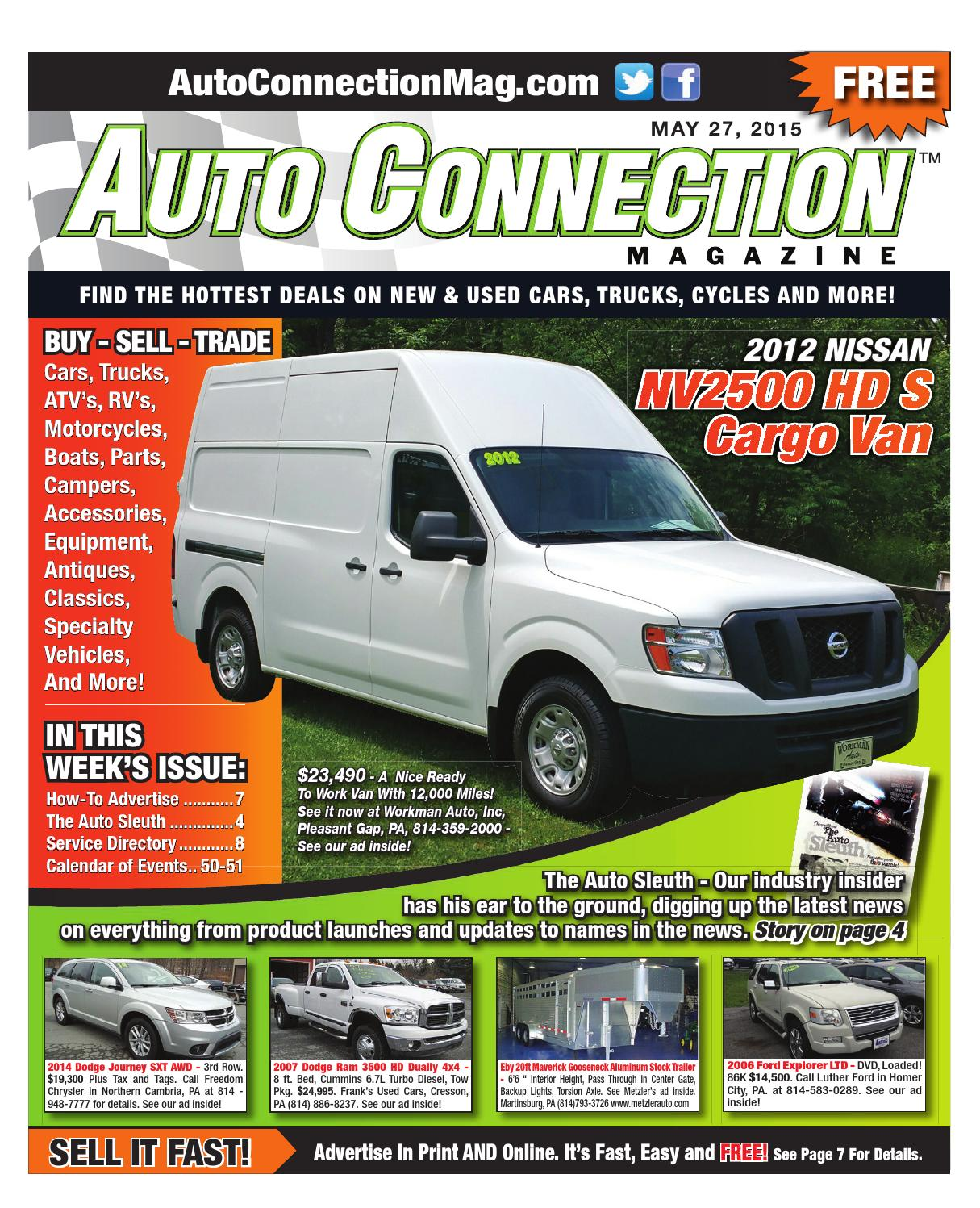 05 27 15 Auto Connection Magazine By Issuu 2016 Kia Sorento Hitches Wiring On Soul Tow Hitch Location