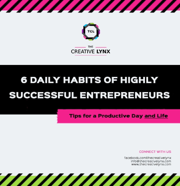 6 Habits Of Successful Entrepreneur
