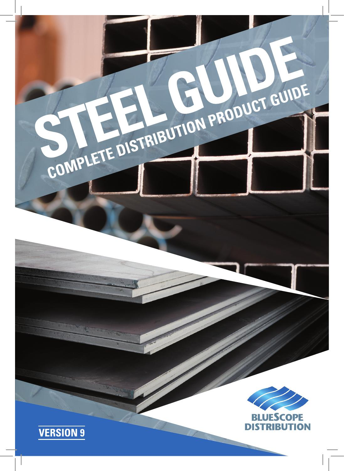 Steel Guide 2015 by BFSP Marketing - issuu