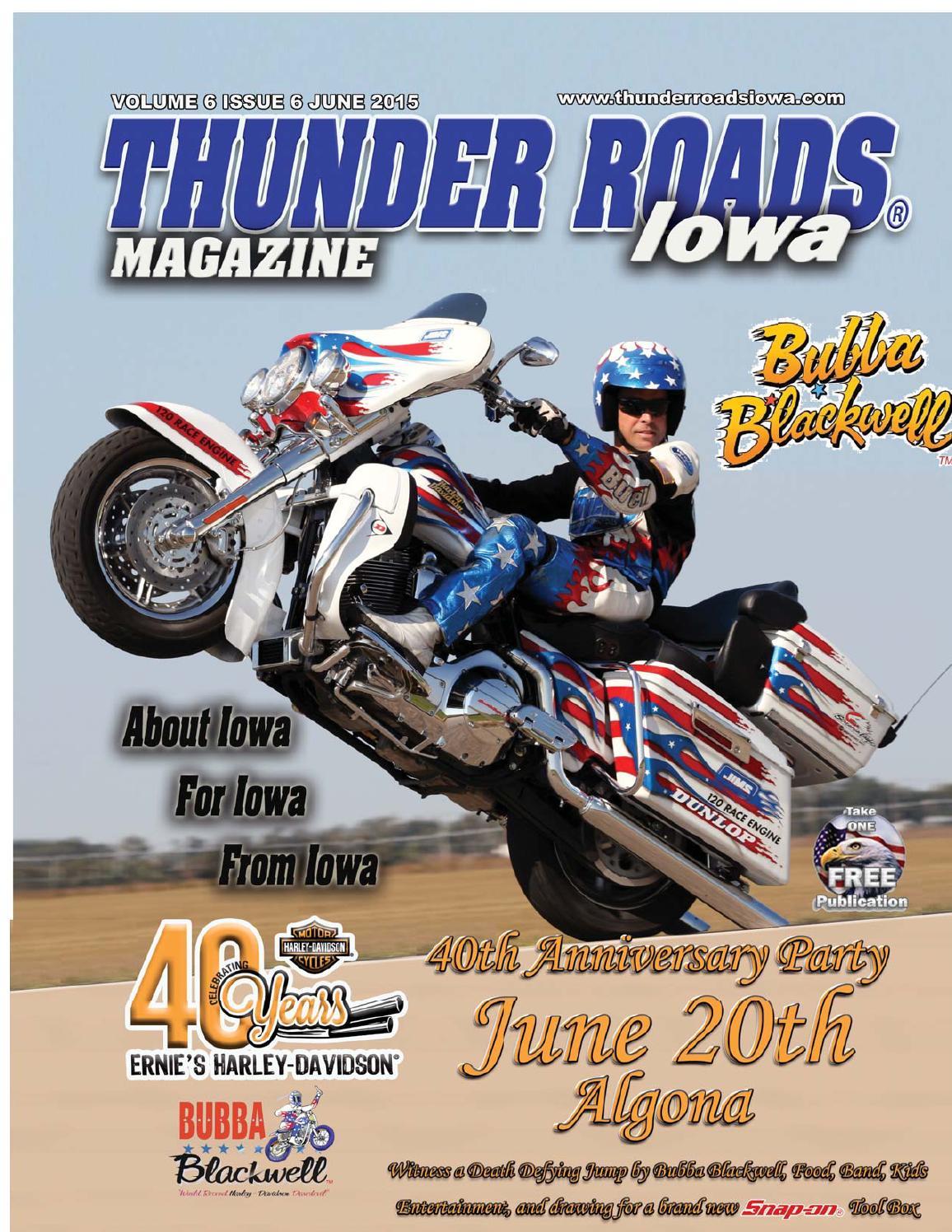 Thunder Roads Magazine Of Iowa June 2015 By Harley Motorcycle Engine Drawing Vquad And Method Issuu