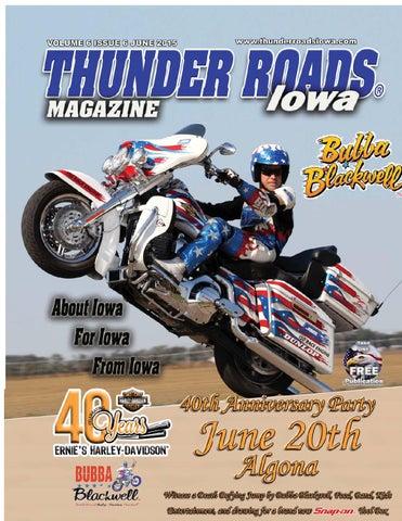 Thunder Roads Magazine Of Iowa March 2014 By Thunder Roads