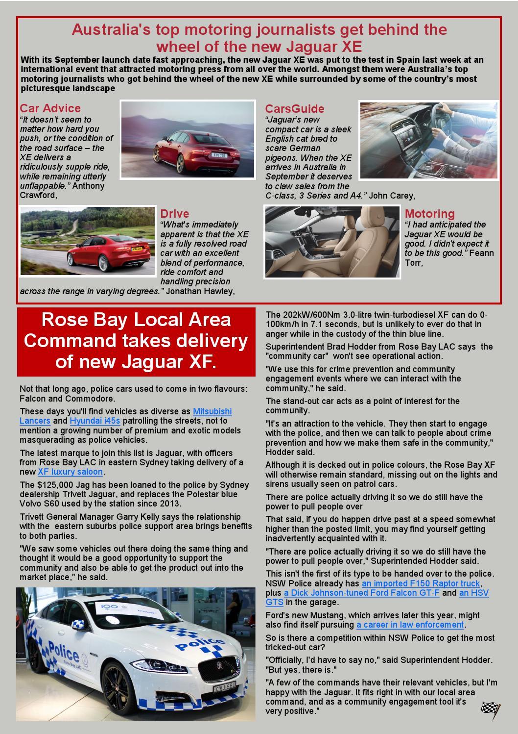 Classic marque june 2015 web by Jaguar Drivers Club of SA