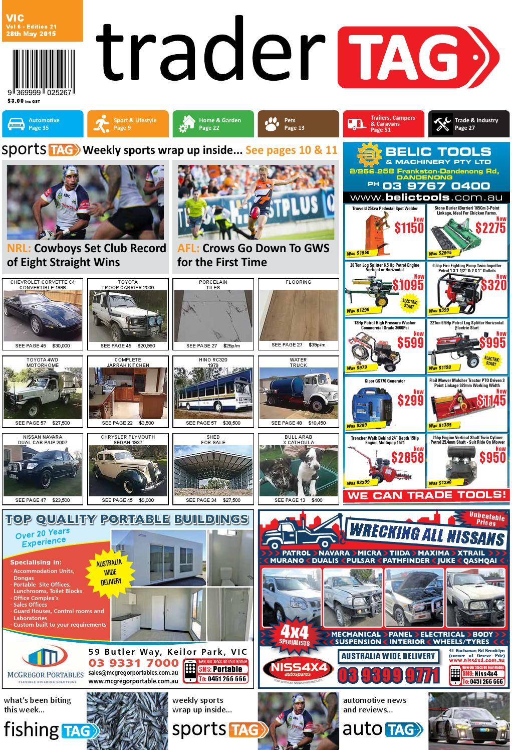 TraderTAG - Victoria - Edition 21 - 2015 by TraderTAG Design - issuu 7c437bae77