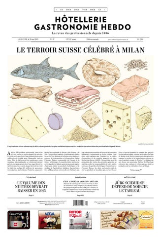 HG Hebdo 17 2015 By Hotellerie Gastronomie Verlag
