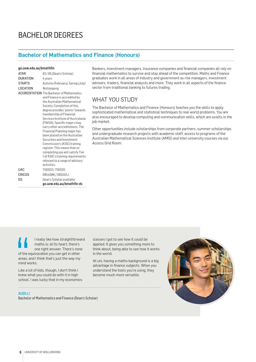 financial mathematics research topics