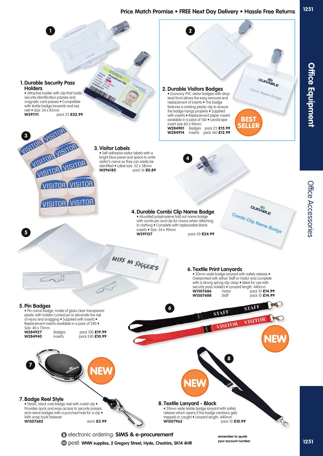 WNW Supplies Catalogue 2015/16 - Office Equipment by Findel