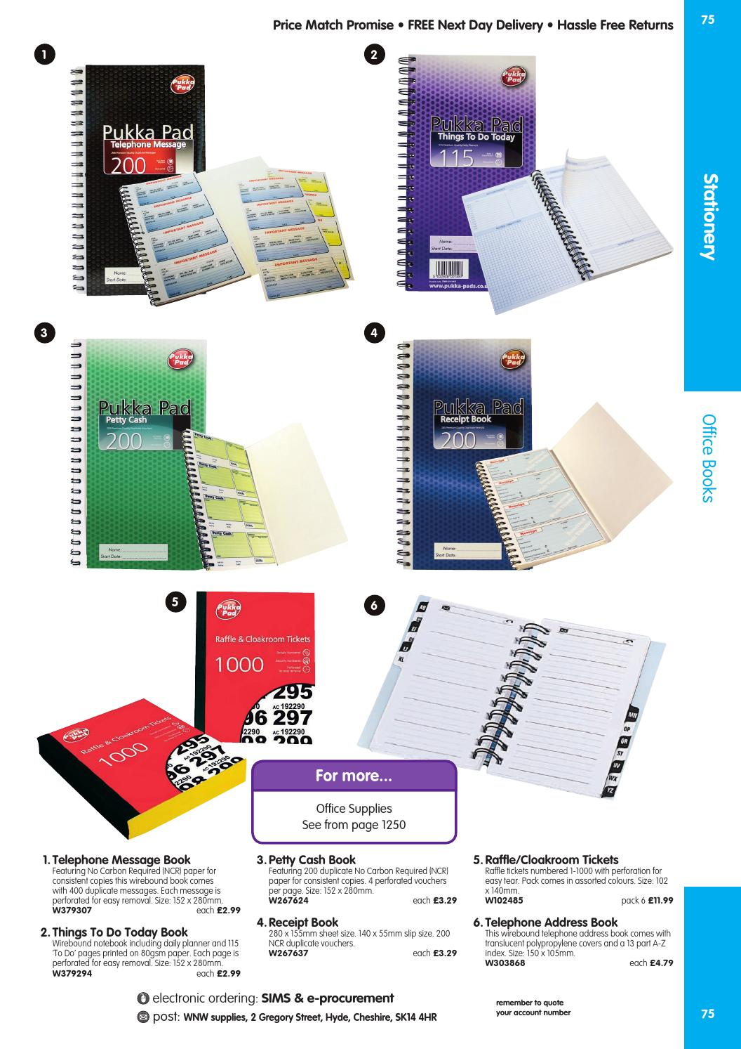 WNW Supplies Catalogue 2015/16 - Stationery by Findel Ltd