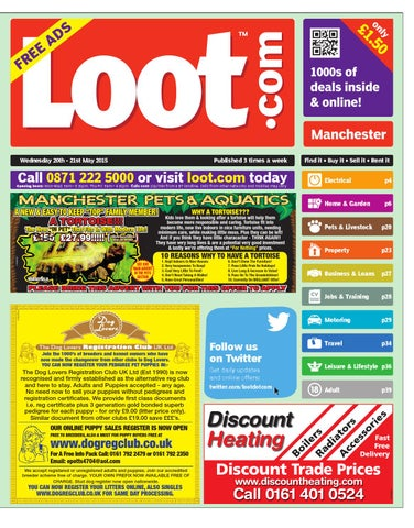 3bfef946 Loot Manchester, May 20th 2015 by Loot - issuu