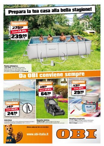 Obi volantino 28maggio 14giugno2015 by catalogopromozioni for Obi barbecue