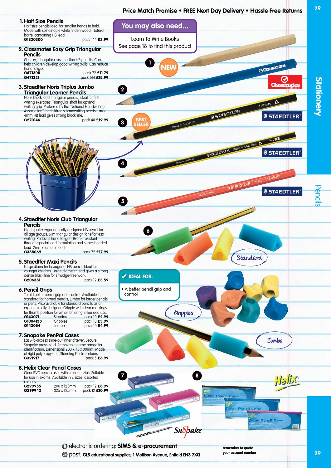 GLS Educational Supplies Catalogue 2015/16 - Stationery by Findel