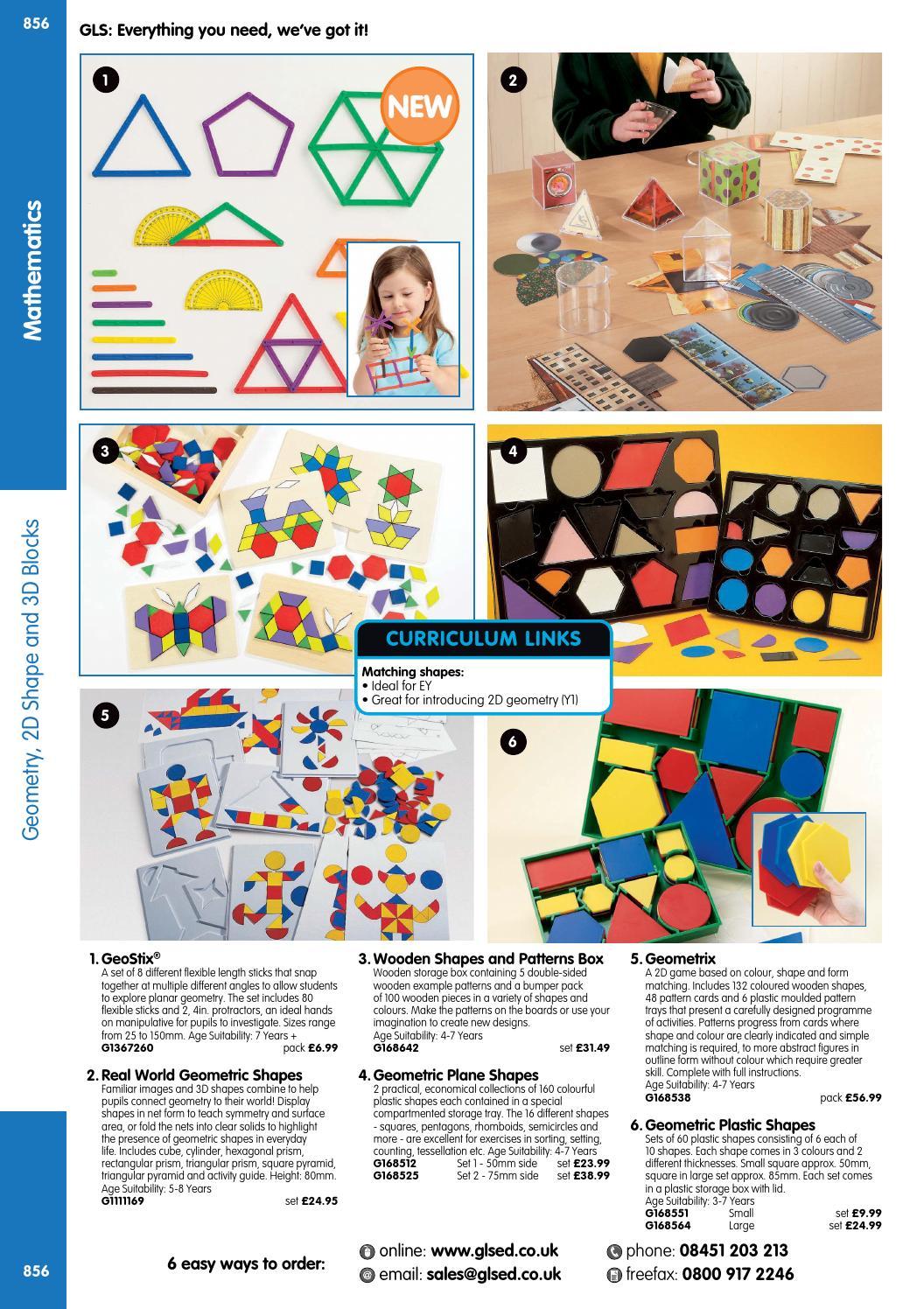 GLS Educational Supplies Catalogue 2015/16 - Mathematics by