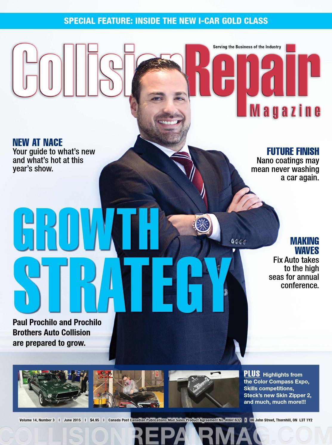 Collision Repair magazine 14#3, June 2015 by Media Matters - issuu