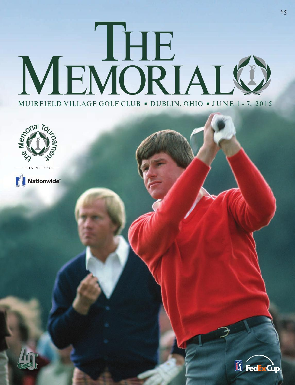2015 Memorial Tournament Magazine by the Memorial Tournament presented by  Nationwide - issuu
