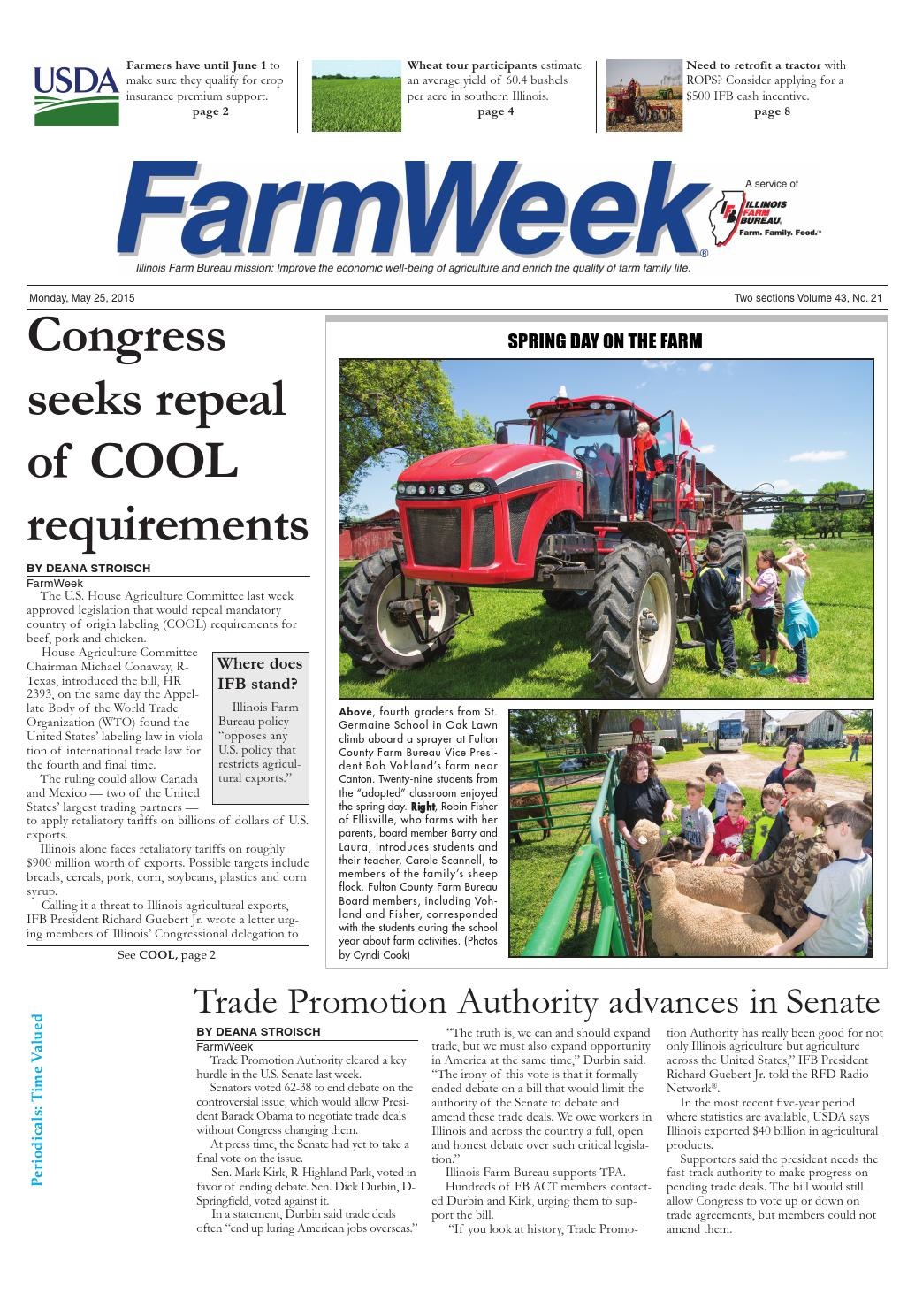 Farmweek may 25, 2015