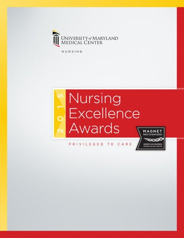 Nursing Excellence Awards 2015 by UMMS - issuu