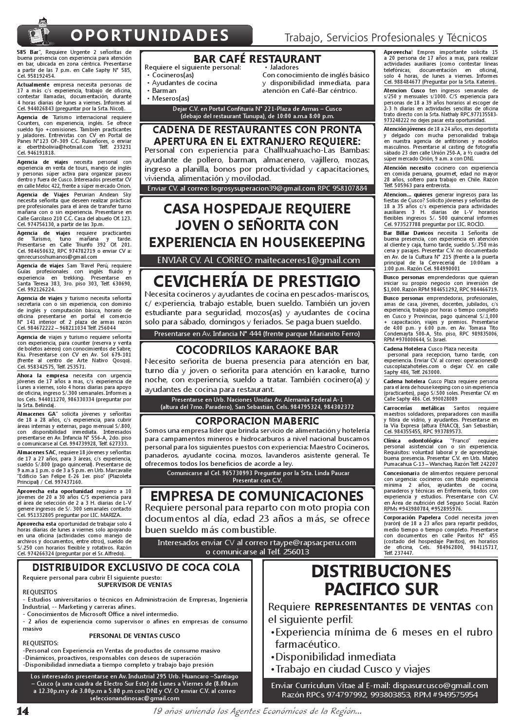 Edición 1666 by Rueda de Negocios - issuu