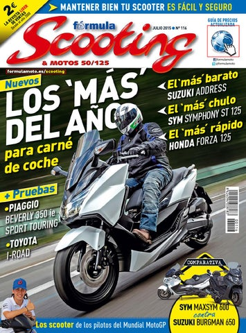 15df284a1a5 Scooting Nº 116. Junio Julio 2015 by LIDER - issuu