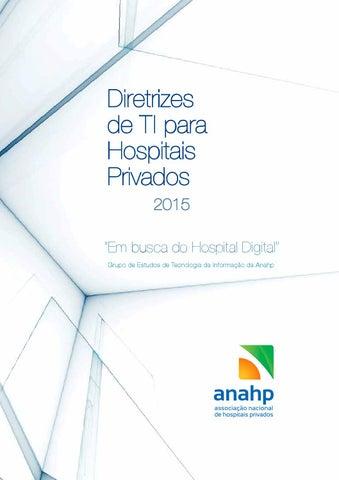 Diretrizes de ti para hospitais privados 2015 by anahp issuu page 1 ccuart Choice Image